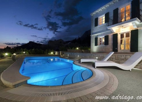 Makarska luxury villa with pool