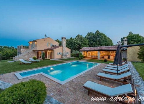 Istria Villa with pool and sauna